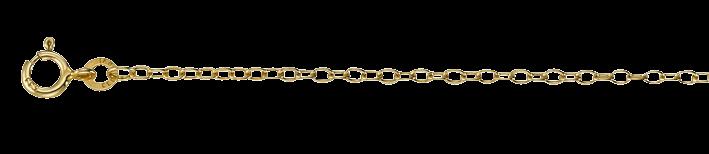 Necklet Anchor round chain width 1.8mm