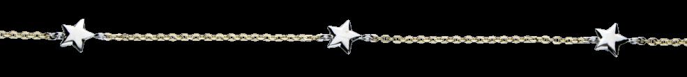 Necklet Anchor diamond cut