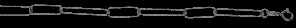 Collier Anker gerieft Kettenbreite 5.2mm