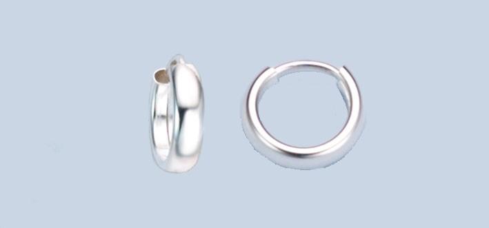 Earring ear hoops 3,9 mm