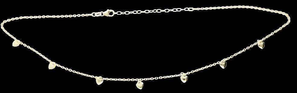 Collier Anker diamantiert