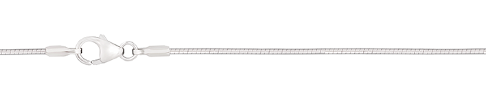 Necklet Tonda-chain chain width 1mm