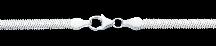 Collier Schlange oval Kettenbreite 4.2mm