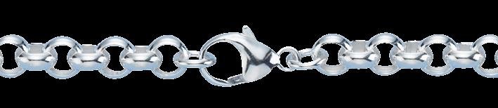 Necklet Belcher chain chain width 7.2mm