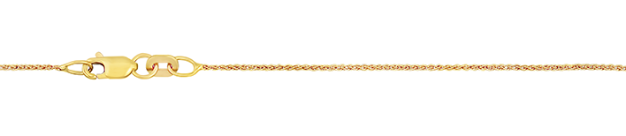 Necklet Wheat chain chain width 0.9mm