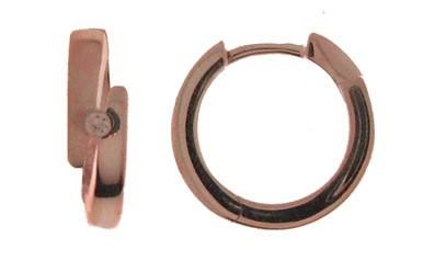Earring ear hoops 4,4 mm