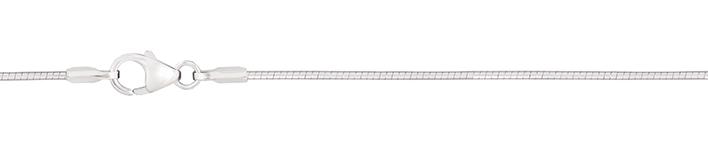 Collier Tonda-Kette Kettenbreite 1mm
