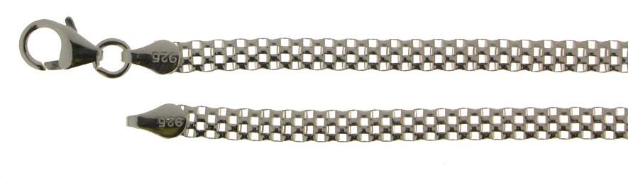 Necklet Mesh-chain chain width 3.8mm