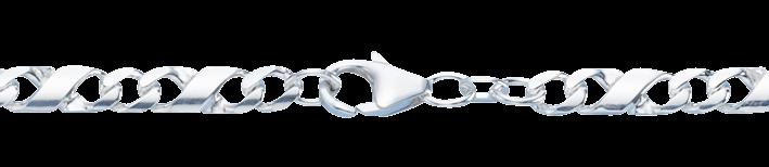 Necklet Dollar-chain chain width 5.4mm