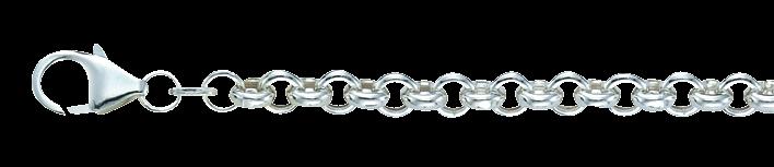 Bracelet Belcher chain hollow chain width 5.1mm