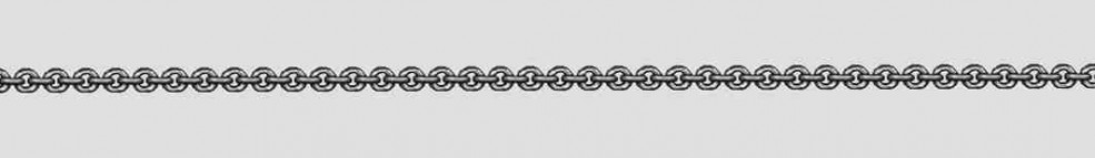 Necklet Anchor round chain width 2mm