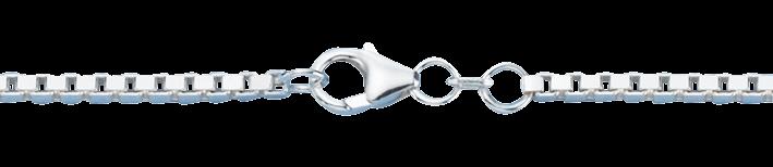 Necklet Box chain chain width 2.2mm