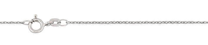 Necklet Anchor diamond cut chain width 1.3mm