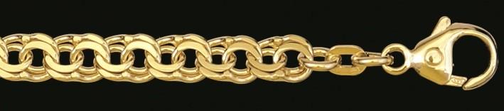 Bracelet Garibaldi chain chain width 5.2mm