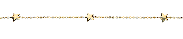 Bracelet Anchor diamond cut