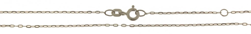 Necklet incl.loop Anchor flat chain width 1.1mm