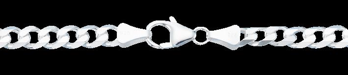 Bracelet Curb Chain chain width 5.5mm