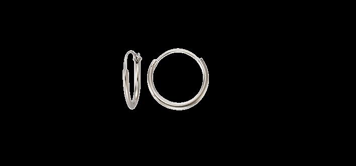 Earring ear hoops 1,3 mm