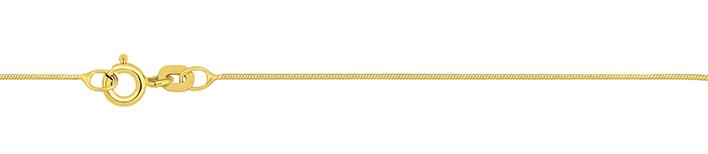 Necklet Snake diamond cut chain width 0.7mm