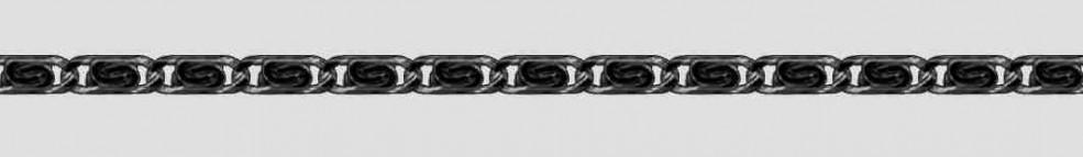 Bracelet Scroll chain chain width 3.2mm