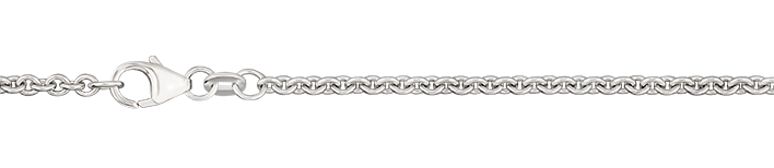 Necklet Anchor round chain width 2.4mm