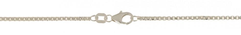 Necklet Round box chain chain width 1.5mm