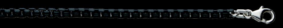 Necklet Round box chain chain width 3.7mm