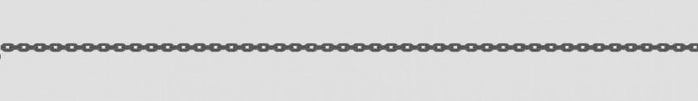 Necklet incl.loop Anchor diamond cut chain width 1.15mm
