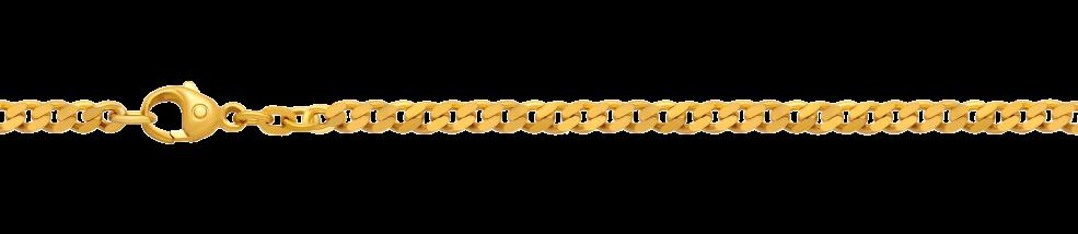 Bracelet Curb chain chain width 2.7mm