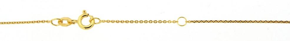 Necklet incl.loop Anchor diamond cut chain width 1.05mm