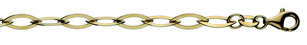 Armband Anker weit Kettenbreite 5.2mm