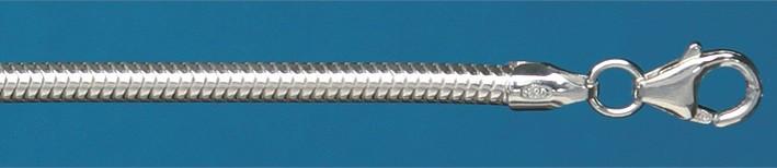 Collier Schlange Kettenbreite 3.2mm