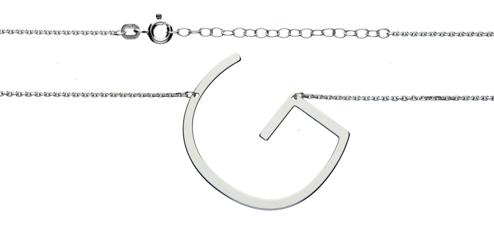 Necklet Anchor diamond cut