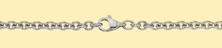 Armband Anker rund Kettenbreite 4mm
