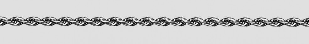 Necklet Rope chain solid chain width 2.7mm