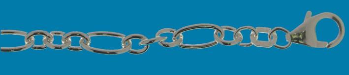 Armband Anker-Figaro Kettenbreite 4.6mm