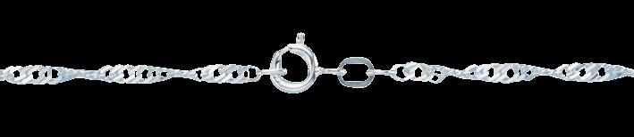 Collier Singapur Kettenbreite 2.4mm