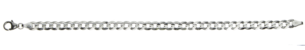 Bracelet Curb Chain chain width 5.6mm