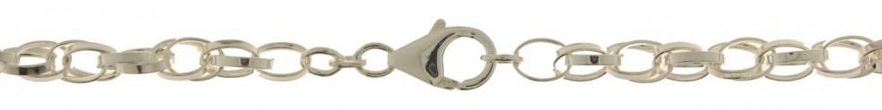 Armband Doppelanker Kettenbreite 5.7mm
