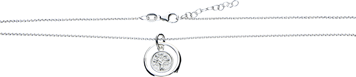 Necklet Anchor round
