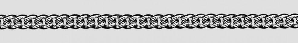 Collier Anker rund Kettenbreite 1.5mm