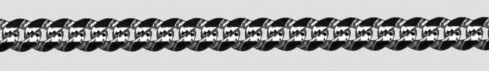 Armband Panzer Kettenbreite 5.8mm
