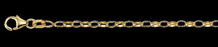 Necklet Belcher chain chain width 2.4mm