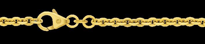 Necklet Anchor round chain width 3.2mm
