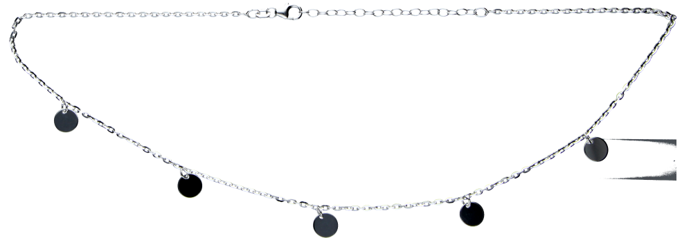 Collier Anker diamantiert
