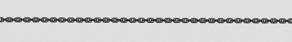 Necklet Anchor diamond cut chain width 1.7mm