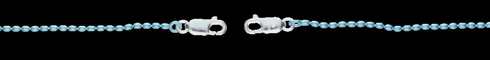 Collier Oliven-Kette Kettenbreite 1.5mm