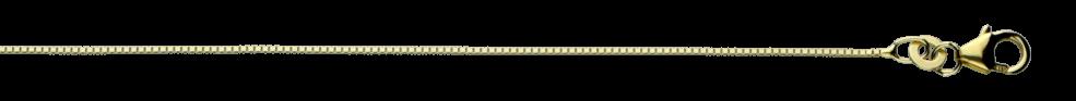 Necklet Box chain chain width 0.7mm