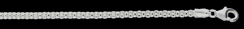 Bracelet Anchor flat chain width 2.8mm