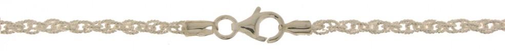 Bracelet Double anchor chain width 3mm